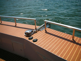 Boat bootom surfaces